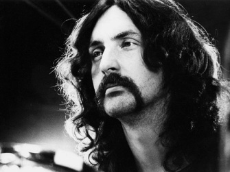 Nick Mason thinking about drums. Probably.
